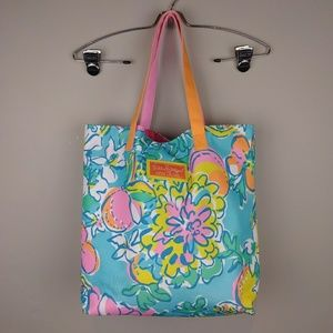 Lilly Pulitzer for Estee Lauder Beach Tote